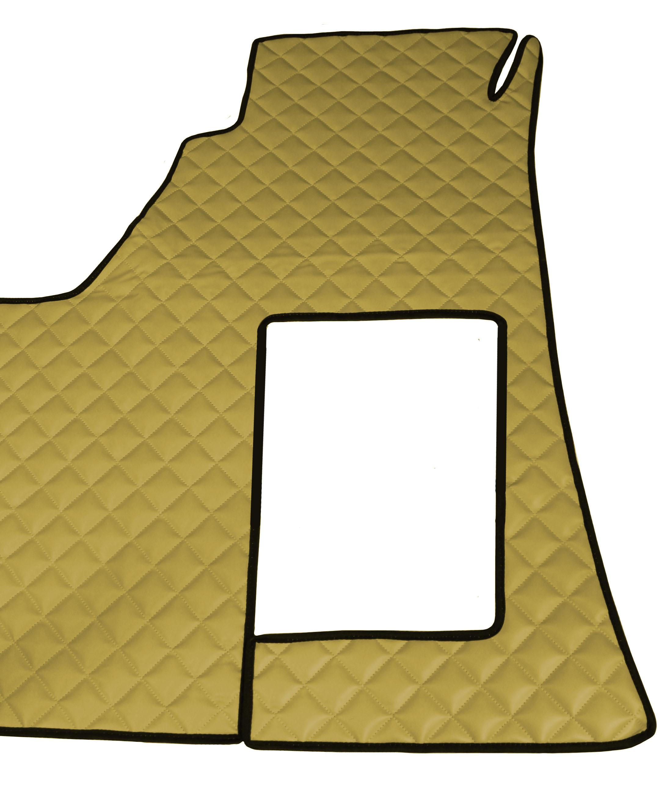 Fußmatten Kunstleder TEPPICH Mercedes MB Actros MP4 ab