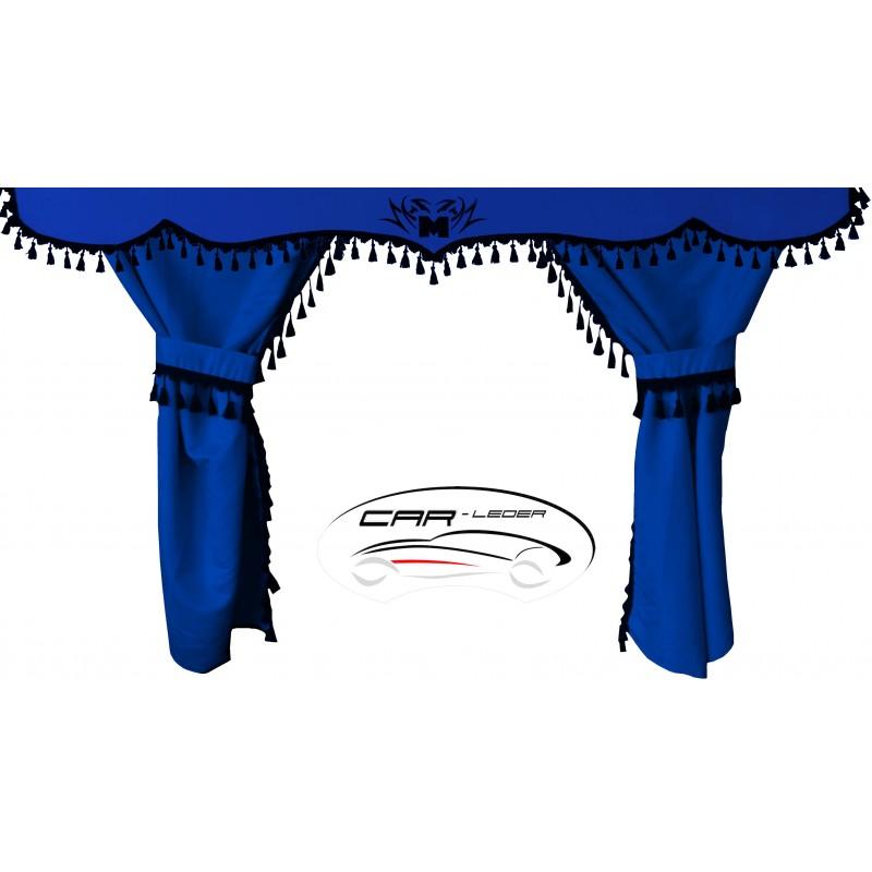 Prestige Schonbezüge Sitzbezüge Kunstleder - Stoff für LKW Mercedes Actros MP5 Klappbarer Sitz Grau-Schwarz