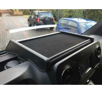 Mittelablage Tisch Schwarz passend für Mercedes Sprinter W907 / W910