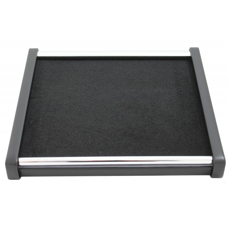Mittelablage Tisch Schwarz - Grau passend für Iveco Daily 2007 - 2014