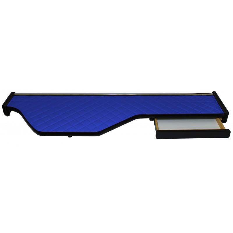 Ablagetisch Kunstleder Blau passend für DAF XF 105 ab 2006