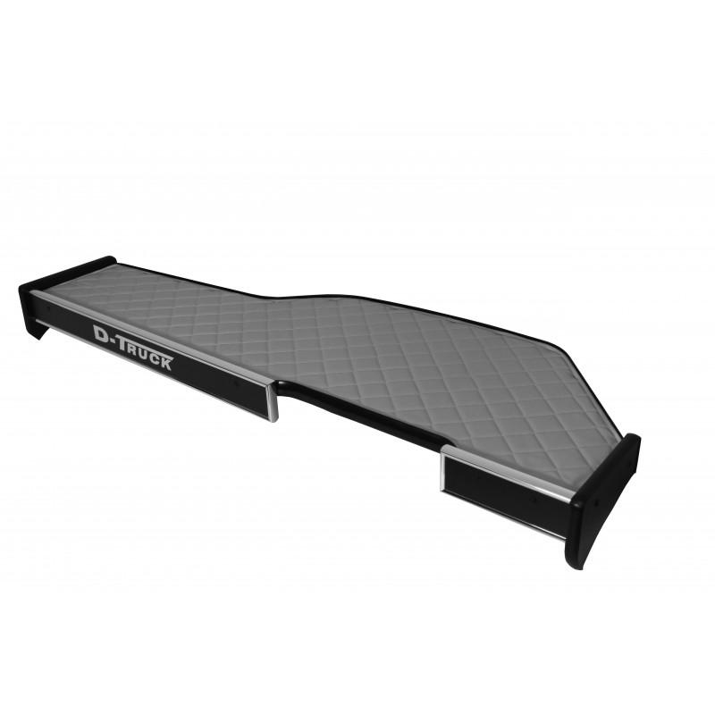 Ablagetisch mit Schublade Kunstleder Grau passend für DAF XF 106