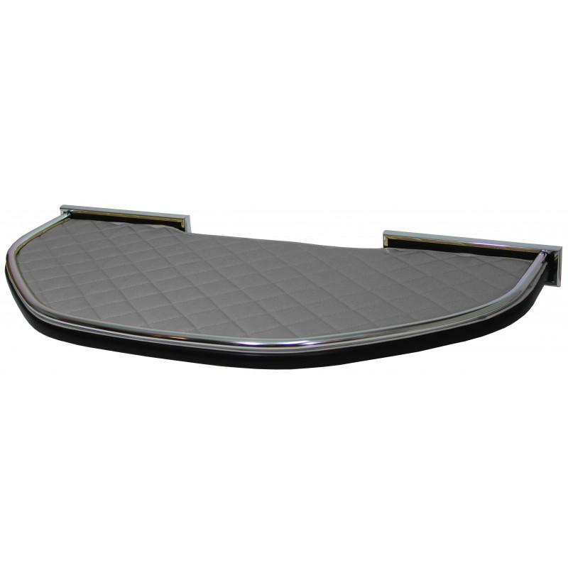 Mittelablage Kunstleder Grau passend für DAF XF 106 mit OBU-Mautgerät und Spurassistenten