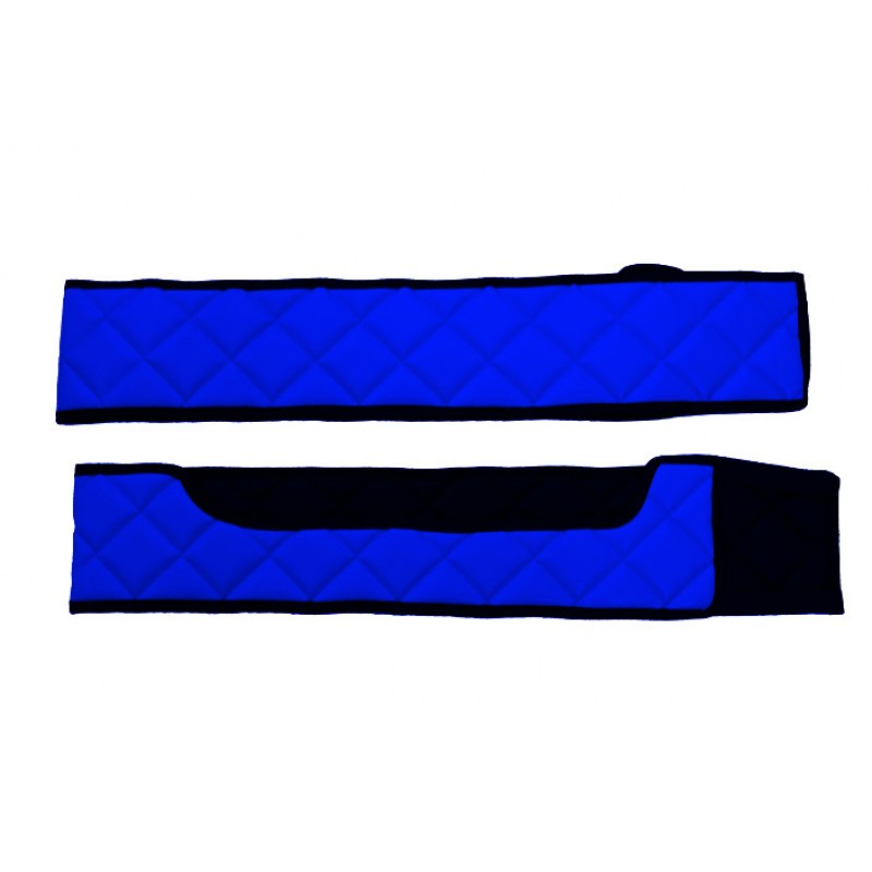 Sitzsockelverkleidung Kunstleder in Blau passend für Volvo FH 4 ab 2013