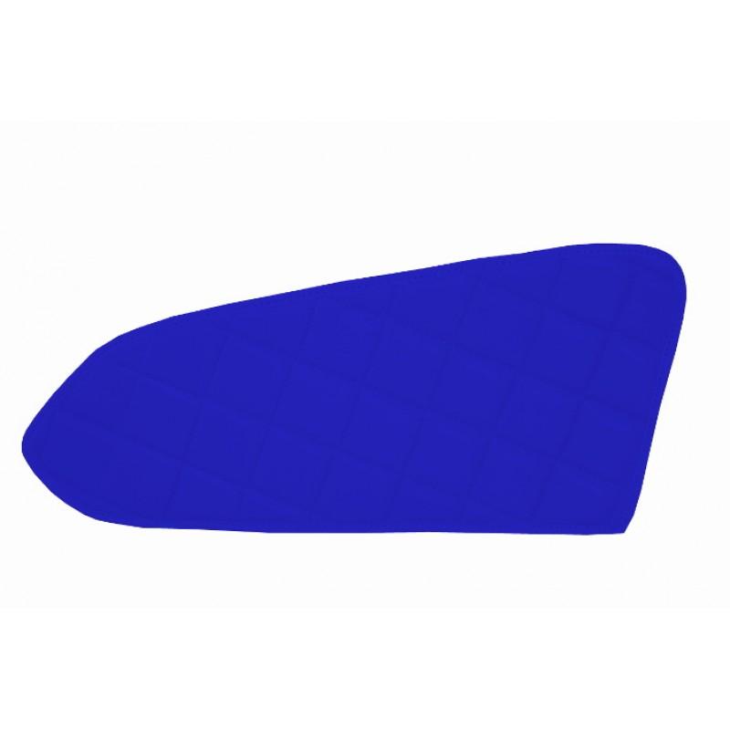 2x Türverkleidung Polster aus Kunstleder in Blau passend für Mercedes Actros MP4 2011 - 2018