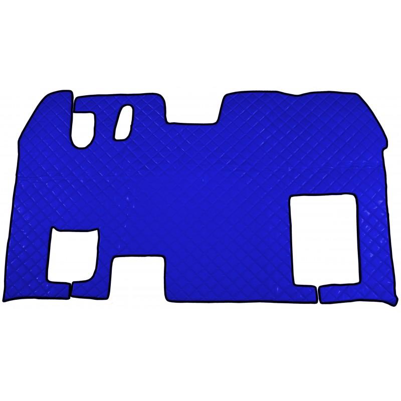 Fußmatten Tunnelabdeckung Blau passend für Renault Magnum 1996 - 2008 Schaltgetriebe