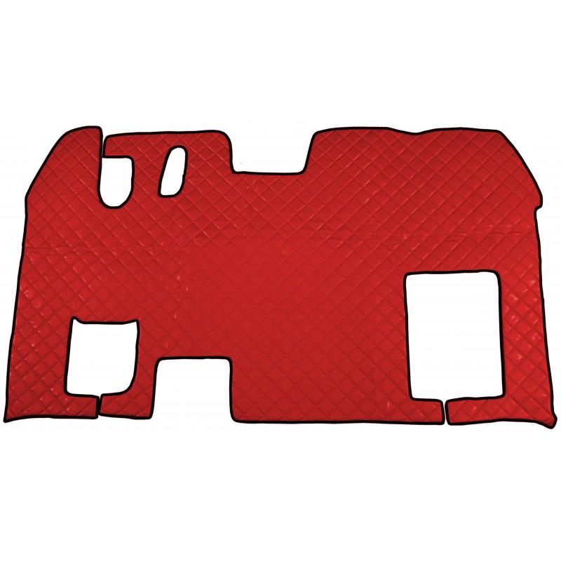 Fußmatten Tunnelabdeckung Rot passend für Renault Magnum ab 1996 Automatik Getriebe