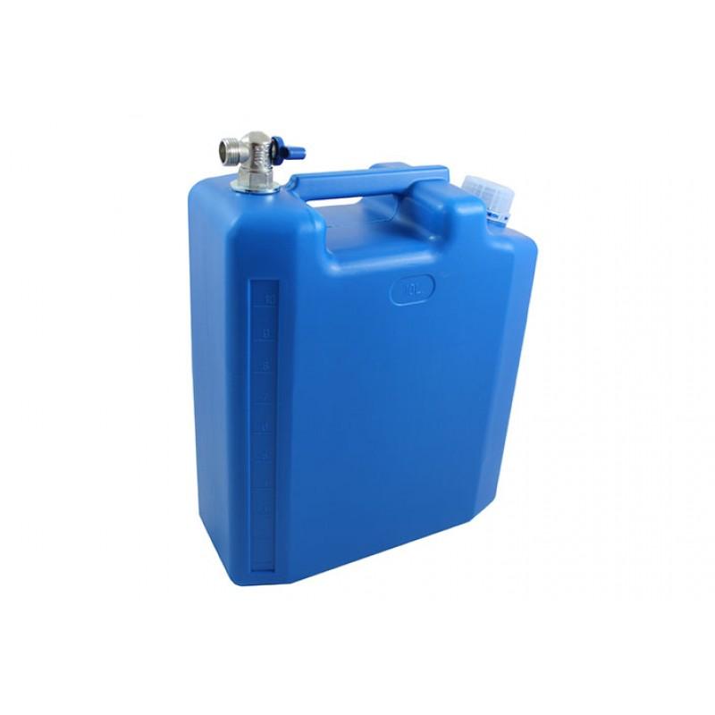 Wasserbehälter Wasserkanister mit Zapfhahn 10 Liter